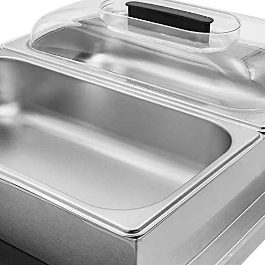 Amazon.com: Chef s Supreme – 2 mitad de tamaño pan servidor ...