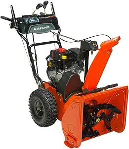 "Ariens 921030 28"" 2 Stage DLX Snow Throw Plow, Orange"