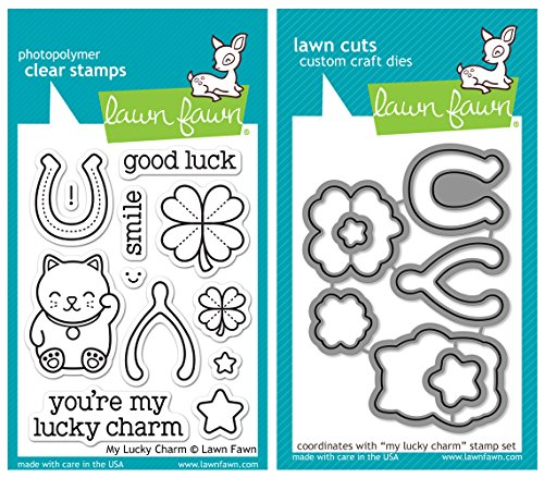 Lawn Lucky Charm Stamp Bundle product image