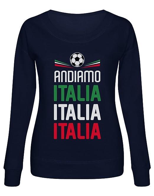 Green Turtle T-Shirts Sudadera Mujer - Apoya a la Selección Italia en el Mundial 2018!: Amazon.es: Ropa y accesorios