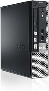 Dell Optiplex 7010 USFF Premium Business Desktop Computer (Intel Quad-Core i5-3470S up to 3.6GHz, 8GB RAM, 500GB HDD, DVD, VGA, DisplayPort, WiFi, Windows 10 Professional) (Renewed)