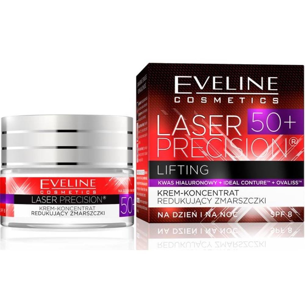 Eveline Cosmetics Laser Precision Intensely Lifting Day and Night Cream 50+ ULRIC DE VARENS 5907609393173