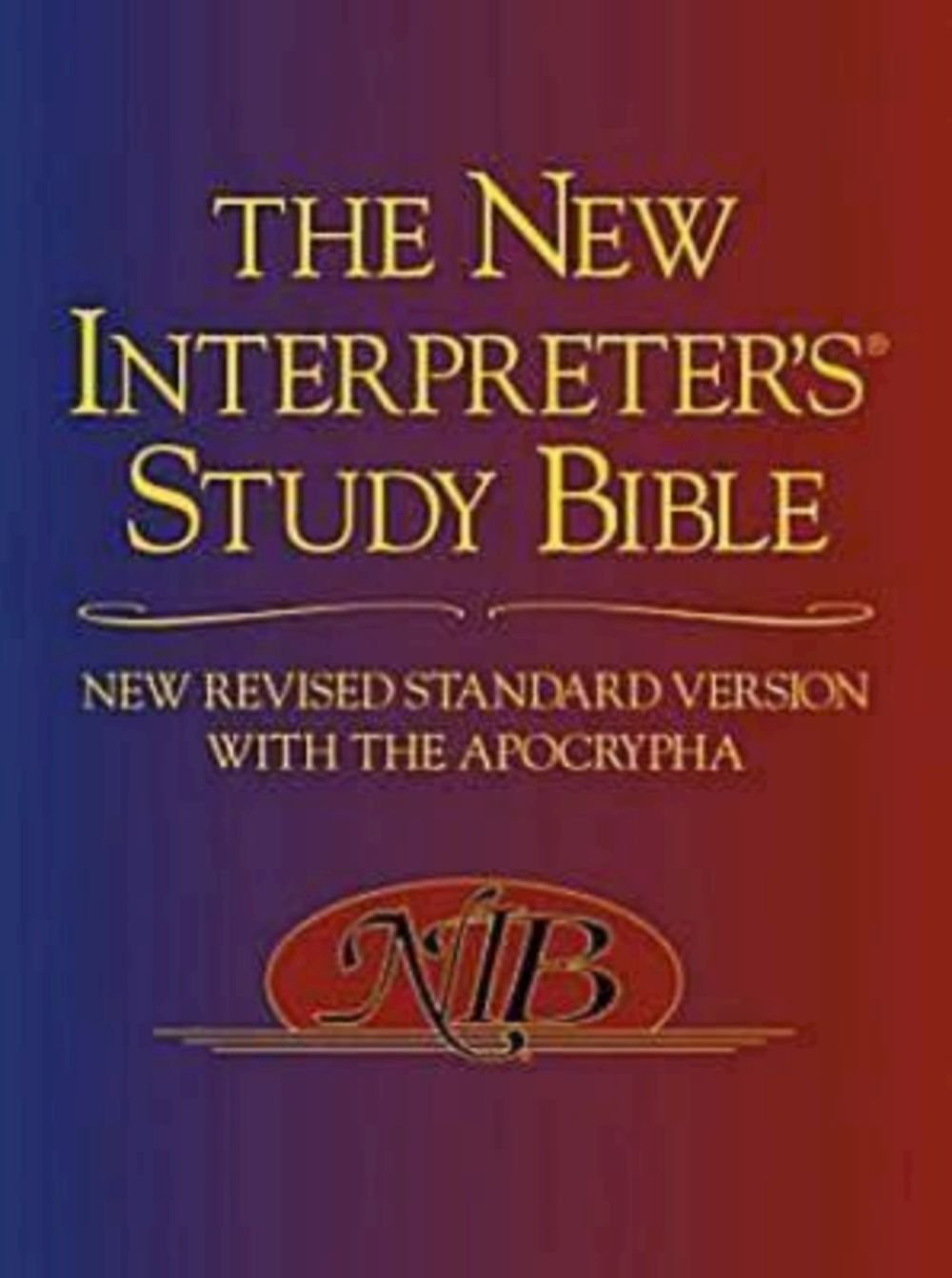 The New Interpreter's Study Bible: New Revised Standard Version With the Apocrypha pdf