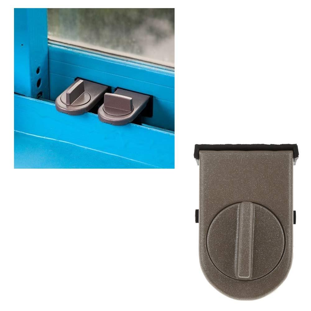 Blocco di sicurezza bambini anta scorrevole Stopper Cabinet Serrature sicurezza antifurto porte serratura scorrevole Finestra di blocco
