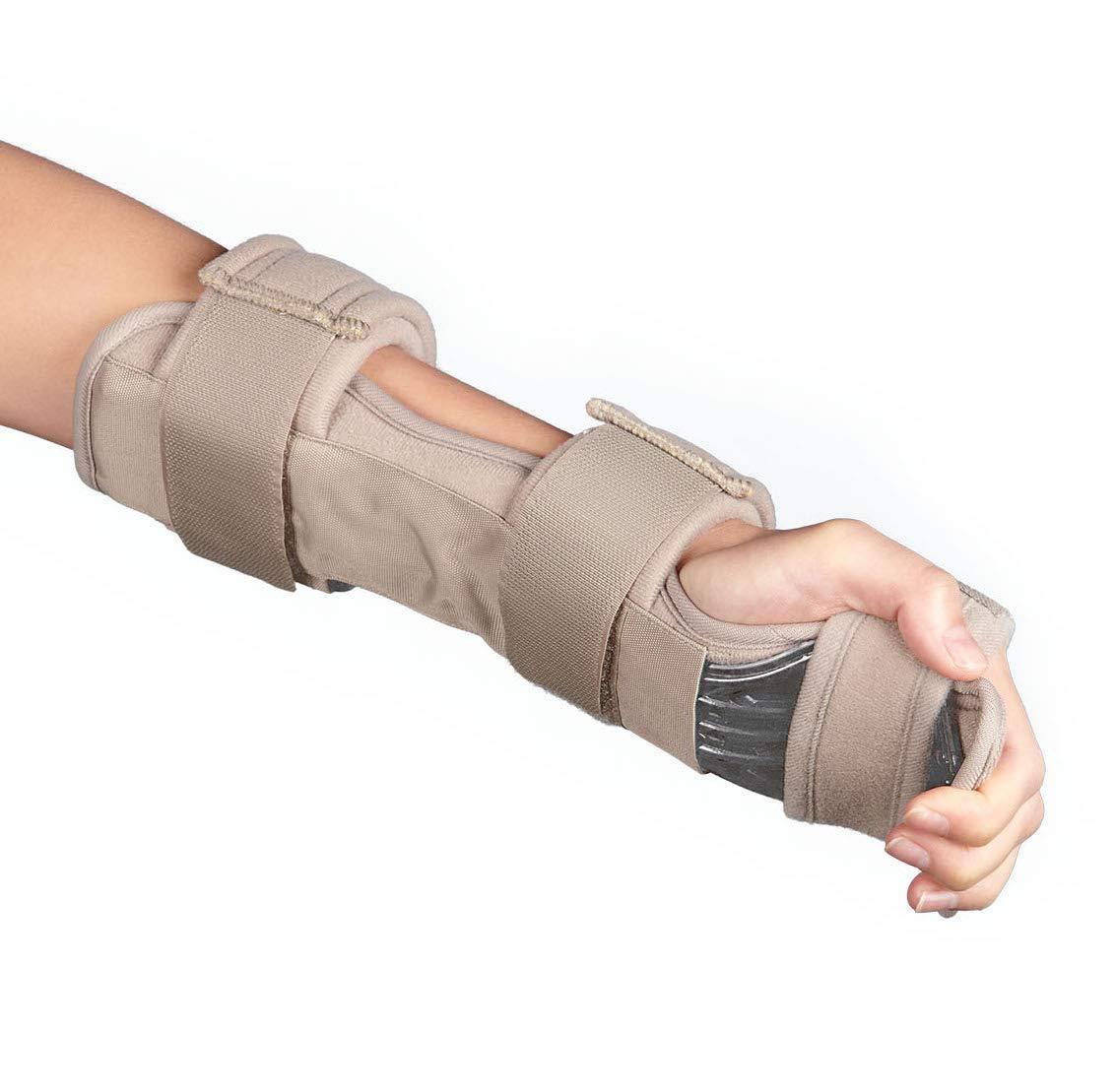 Stroke Hand Brace Support Hand Splint Soft Professional Functional Resting Hand Splint Night Wrist Splint Support Immobilizer Finger Wrist Fracture -1 Unit (Universal) by Rewind With Nature