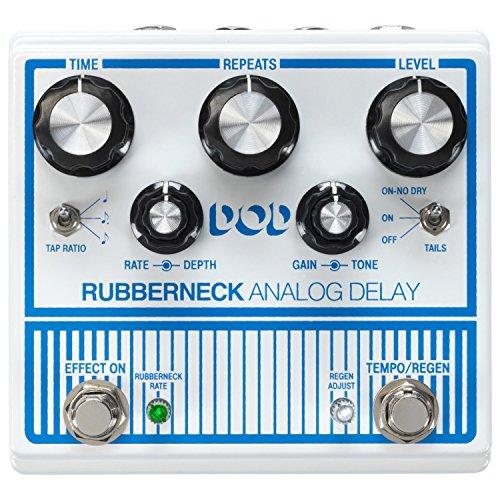 Digitech Guitar Delay Effects Pedal (DOD-RUBBERNECK-U)