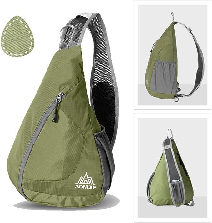 Fiblink wasserdichte Sporttasche mit Einer Schulter zum Angeln Umh/ängetasche Outdoor-Sport Wandern f/ür Camping Radfahren Rucksack oder Handtasche