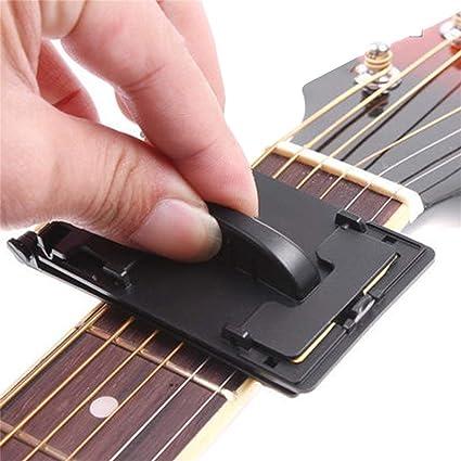 Lorenlli Fregadora de cuerdas para bajo de guitarra eléctrica, limpiador para fretboard, herramienta de