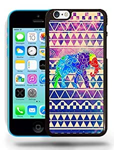 Aztec Tribal Space Elephant Hipster Pattern Phone Case Cover Designs for iPhone 5C