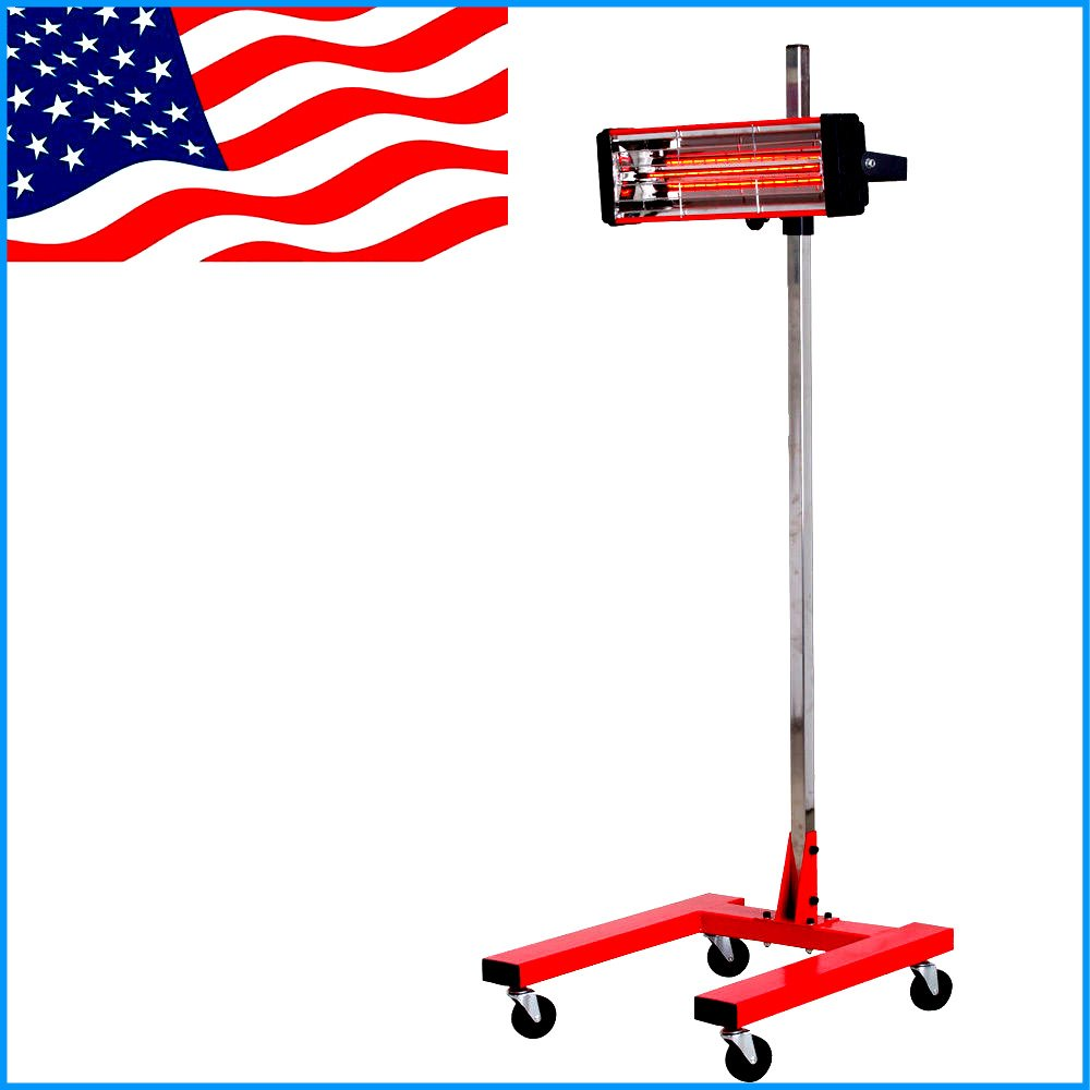 House Deals Paint Curing Lamp Infrared Baking Heating Light Heater Exhaust Filter Dryer Machine by House Deals
