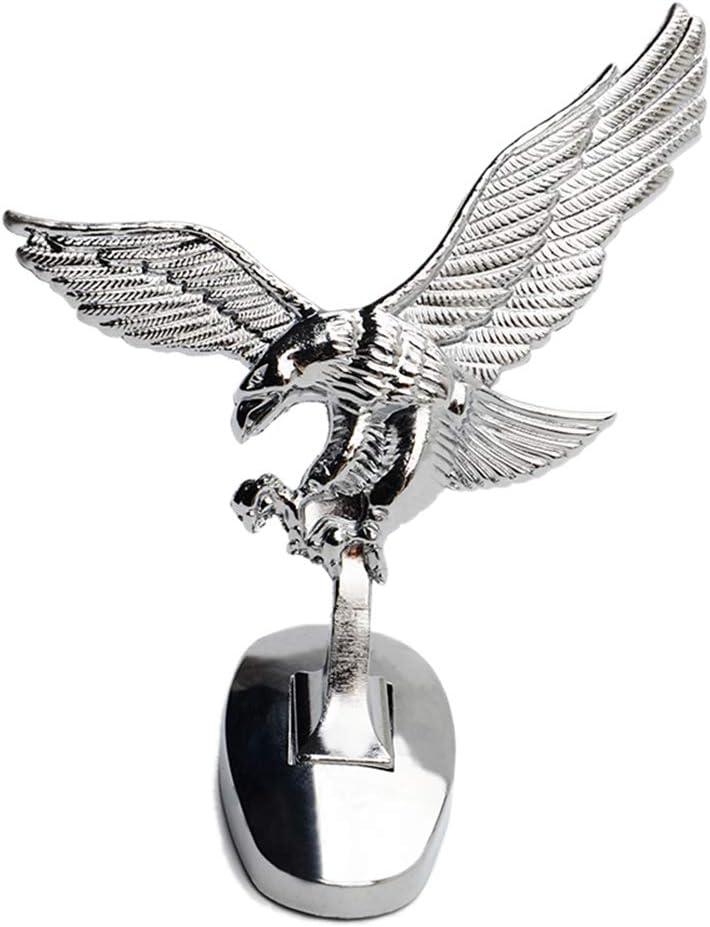 Ángel 3D Emblema del águila Cubierta automática en el Frente del Coche Insignia del Coche del Capo de la Capilla decoración del Ornamento Labra los Accesorios