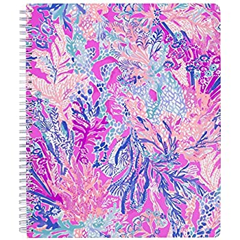 40d35634bf1496 Amazon.com : Lilly Pulitzer Women's Large College Ruled Notebook ...