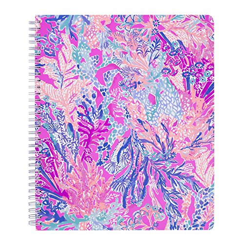 Lilly Pulitzer Women's Large College Ruled Notebook (Aquadesiac)