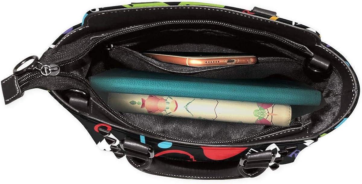Zebra modello nero moda donna vera pelle rivetto borsa a tracolla ragazze viaggio scuola borsa Musica.