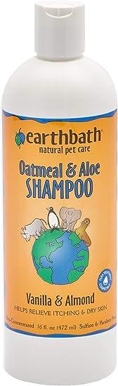 Earthbath Oatmeal and Aloe Shampoo - Best Dry Skin Shampoo for Dogs