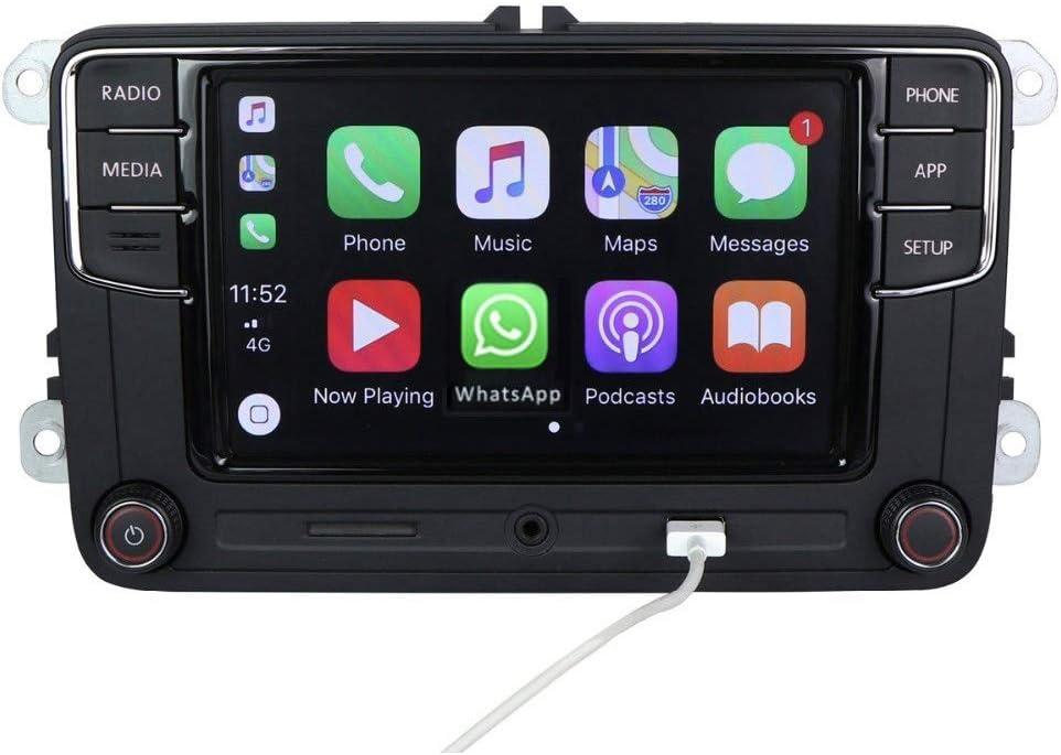 Amzparts RCD330 Carplay MIB Car Radio fit for Golf 5 6 Jetta MK5 MK6 Tiguan CC Polo Passat 6RD 035 187B