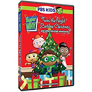 Super Why!: 'Twas the Night Before Christmas and Other Fairytale Adventures by PBS