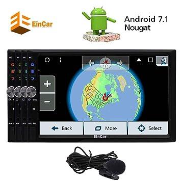 Nueva personalizada de Android 7.1 turrón Octa-core de coches Stereo System Plug and Play