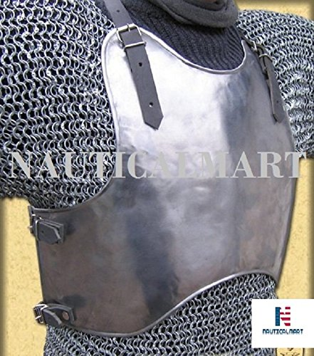 Lombards Costume (Nauticalmart Medieval Steel Armour Breastplate front and back Lombard Reenactment Costume)