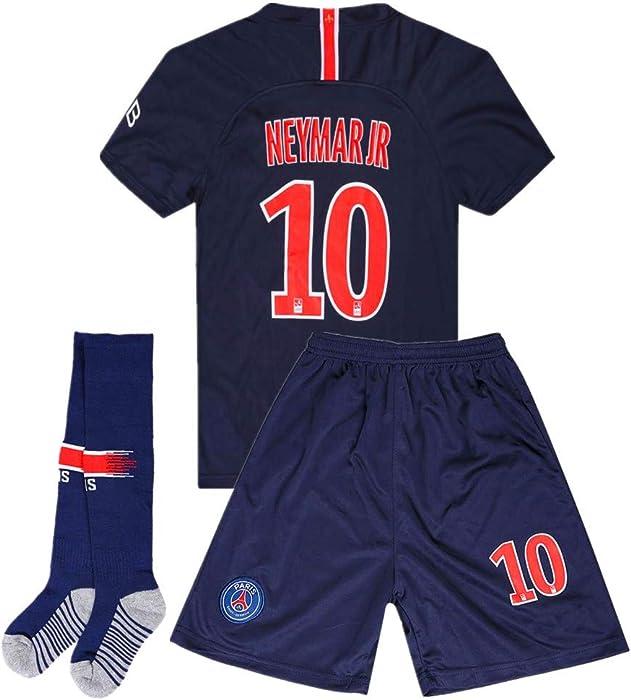 9939015ea13 Amazon.com: Neymar Jr #10 Paris Saint-Germain (PSG) 2018-2019 Home ...