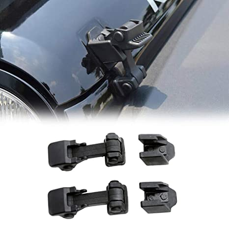 Amazon com: WYYINLI 2PCS Hood Lock Latch Bracket Buckle Hood