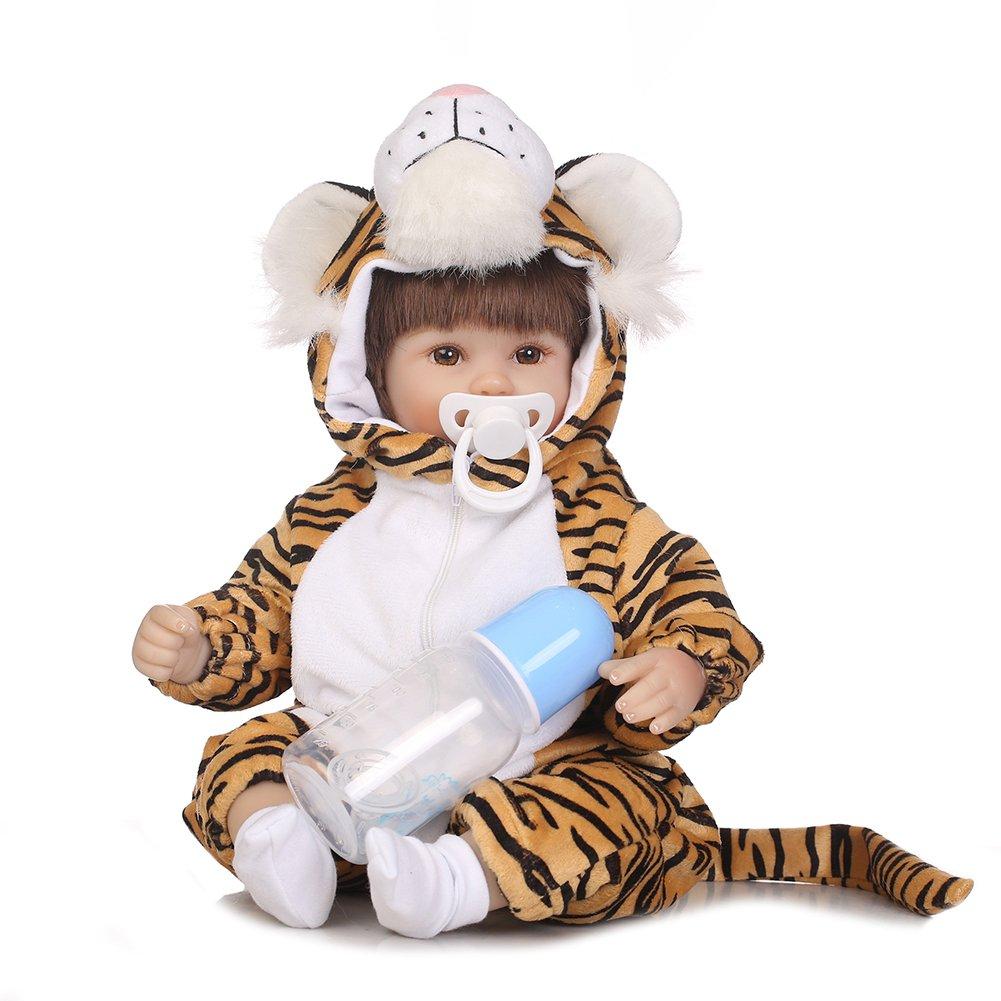 luermeブランド新しいLittle Tiger lifelike Simulated会社Reborn人形   B07BRGLJQY