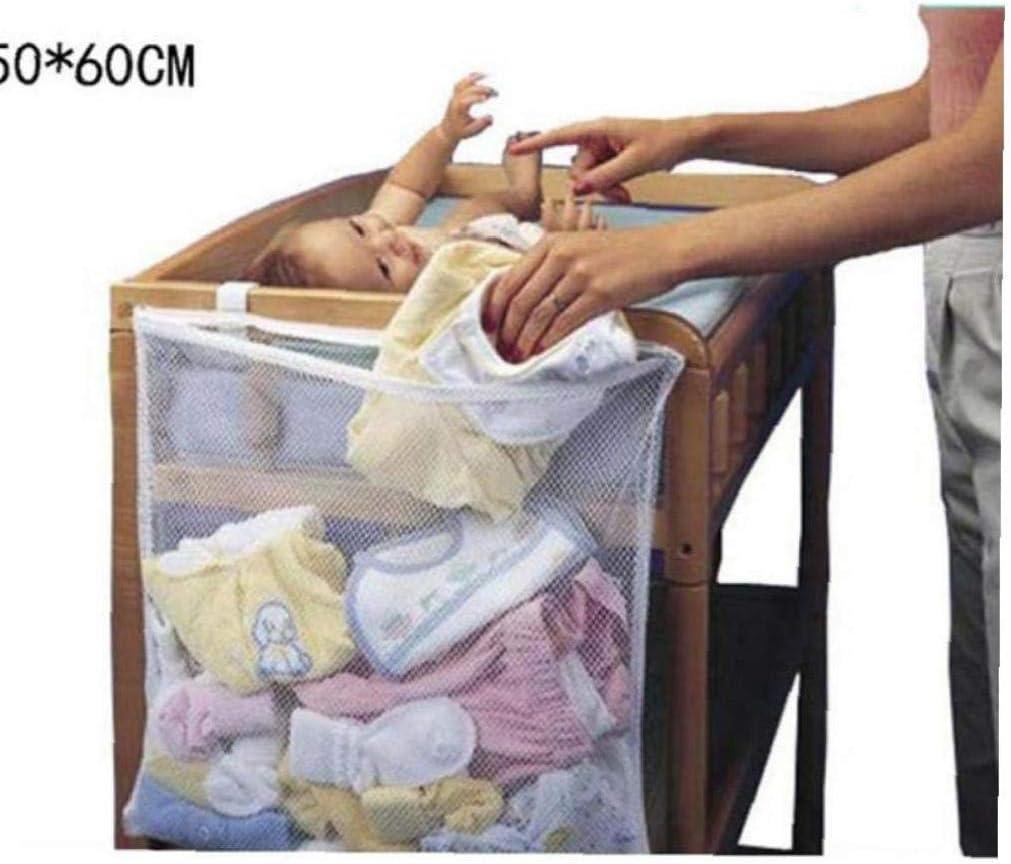 Zonfer 1pc del Pa/ñal del Beb/é Organizador para Nursery Colgantes Bolsa De Pa/ñales De Almacenamiento Noche Caddie De Cuna Cuna De Tela Juguete Ordenado por Cuna Organizador