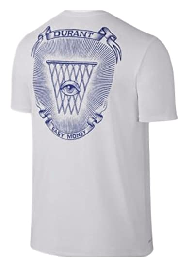 new concept b6a78 535eb Nike Dri-Fit T-Shirt KD Easy Money Kevin Durant (X-Large ...
