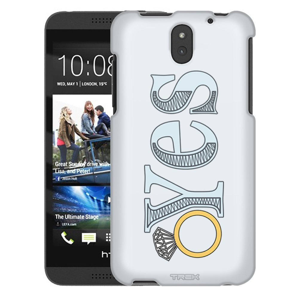 Amazon.com: HTC Desire 610 Case, Snap On Cover by Trek Yes ...
