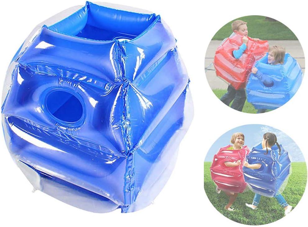 WYLDDP Bola Inflable del Cuerpo Bola Bubble Football Juegos Jardin para Niños Zorb Bola De Hámster Humano Bola De Colisión Inflable De PVC para El Jardín Al Aire Libre Actividad