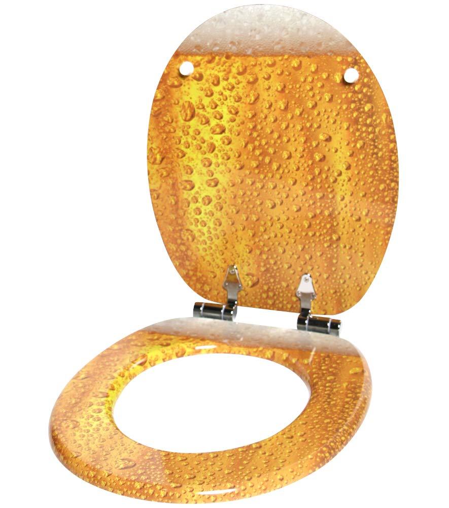 einfache Montage Rosen hochwertige Oberfl/äche WC Sitz mit Absenkautomatik stabile Scharniere viele neue WC-Sitze zur Auswahl