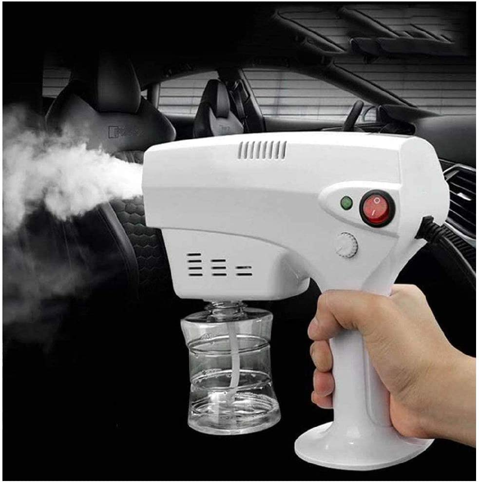 Hand Sprayer for Multi-Purpose Use Portable Steam Atomizing Sprays for Hospitals Home car Hotel Restaurant Family Hospitals Schools YLEI Electric ULV Sprayer