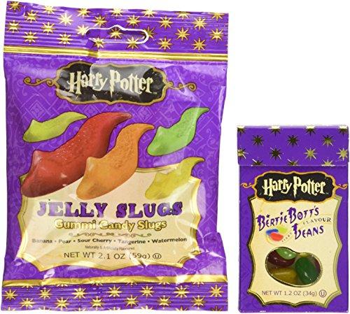 Jelly Belly Harry Potter Bertie Bott's & Jelly Slugs Candy Pack (Jelly Belly Harry Potter)