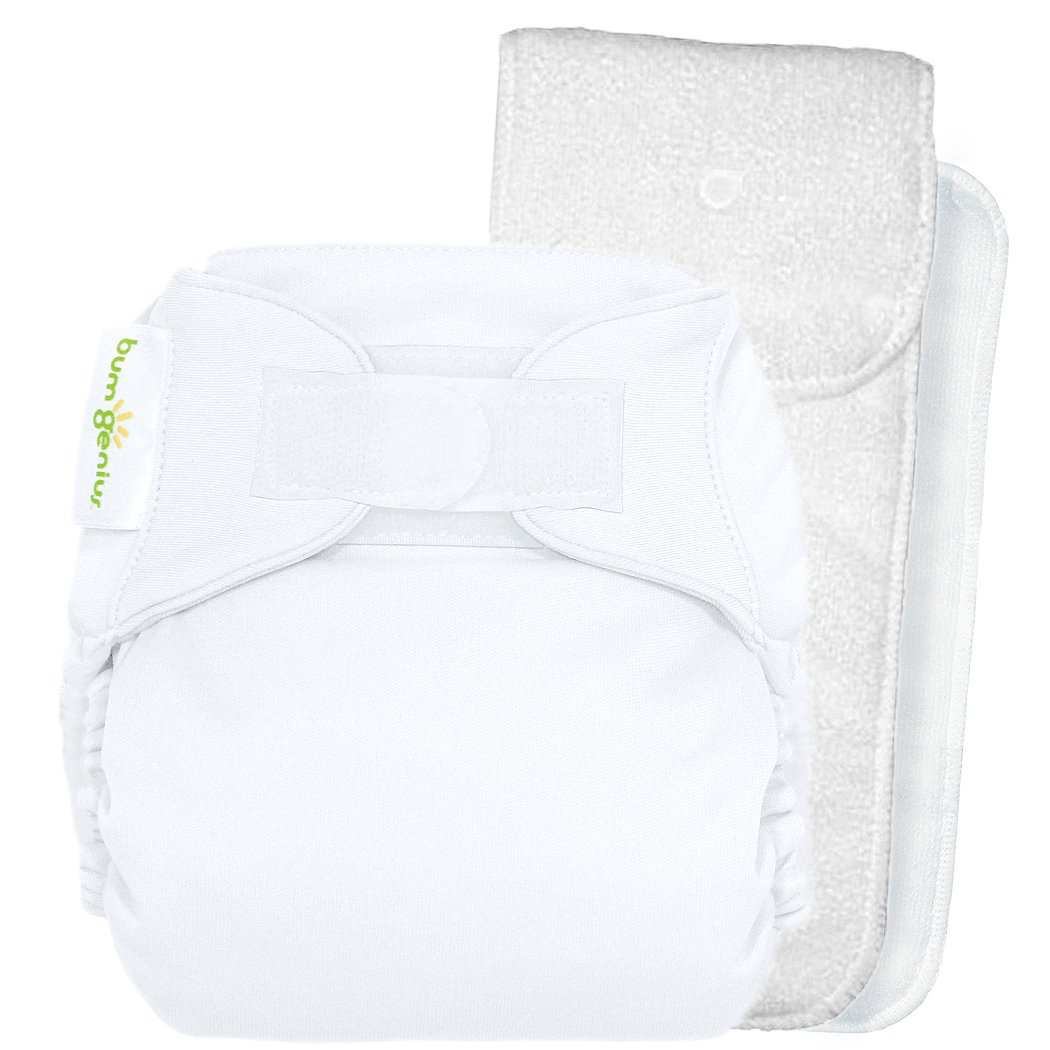 Amazon Bumgenius 40 Pocket Cloth Diaper White One Size