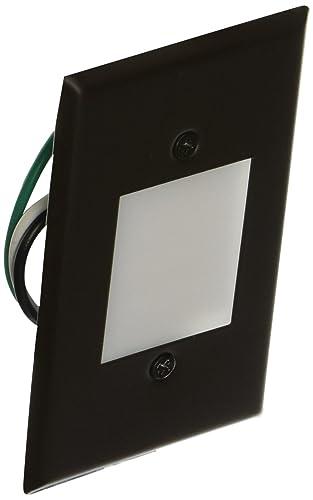 Elco Lighting ELST66BZ 120V LED Mini Step Light