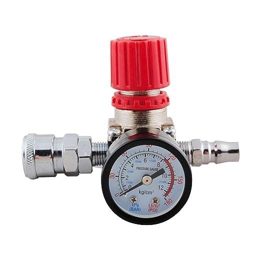 Wadoy 140PSI 1/4 pulgadas regulador de presión de aire ...