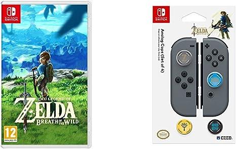 The Legend Of Zelda: Breath Of The Wild + Hori - Grips Zelda para Nintendo Switch: Amazon.es: Videojuegos