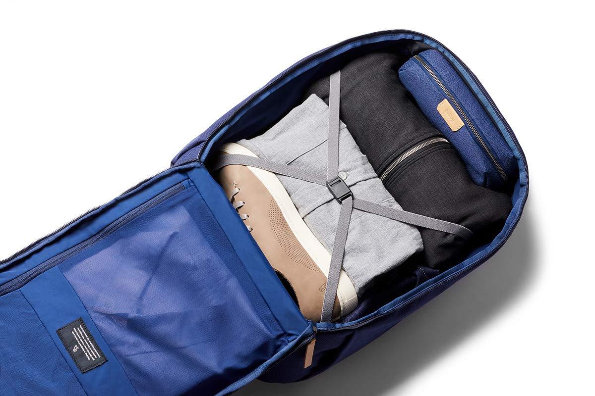 Bellroy Transit Backpack port/átil de 15, Cintas de compresi/ón, Correa Pectoral Ajustable, Respaldo Contorneado, Bolsillos organizadores Charcoal
