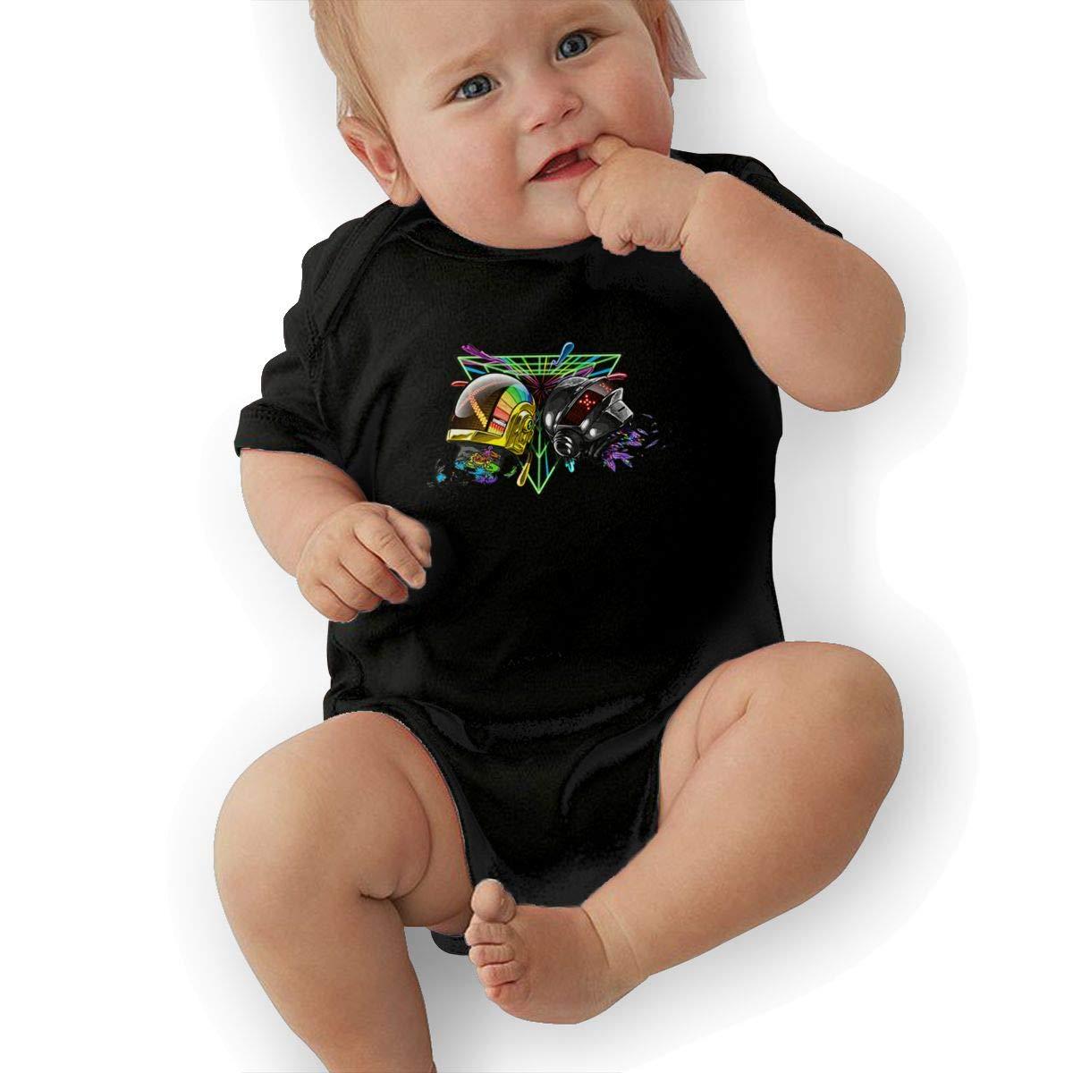 LuckyTagy Daft Punk Unisex Particular Boys /& Girls Romper Baby BoyTank Tops Black