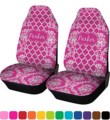 personalized name car seat covers - 9