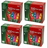 Noma/Inliten Holiday Wonderland's 300 Mini Lights Set (Pack of 4)