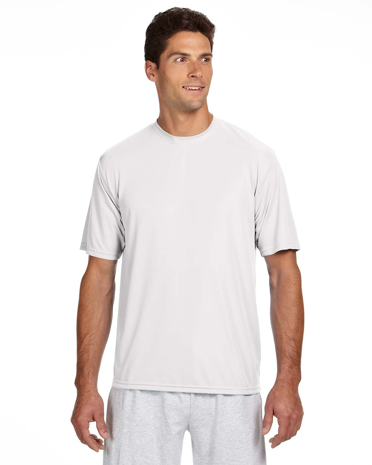 A4 Men's Cooling Performance Crew Short Sleeve Tee by A4