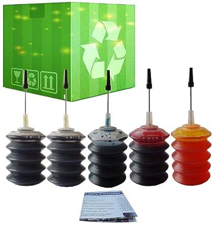 j2ink - Paquete de 2 recambios de tinta para HP 62 HP 62 X L Envy ...