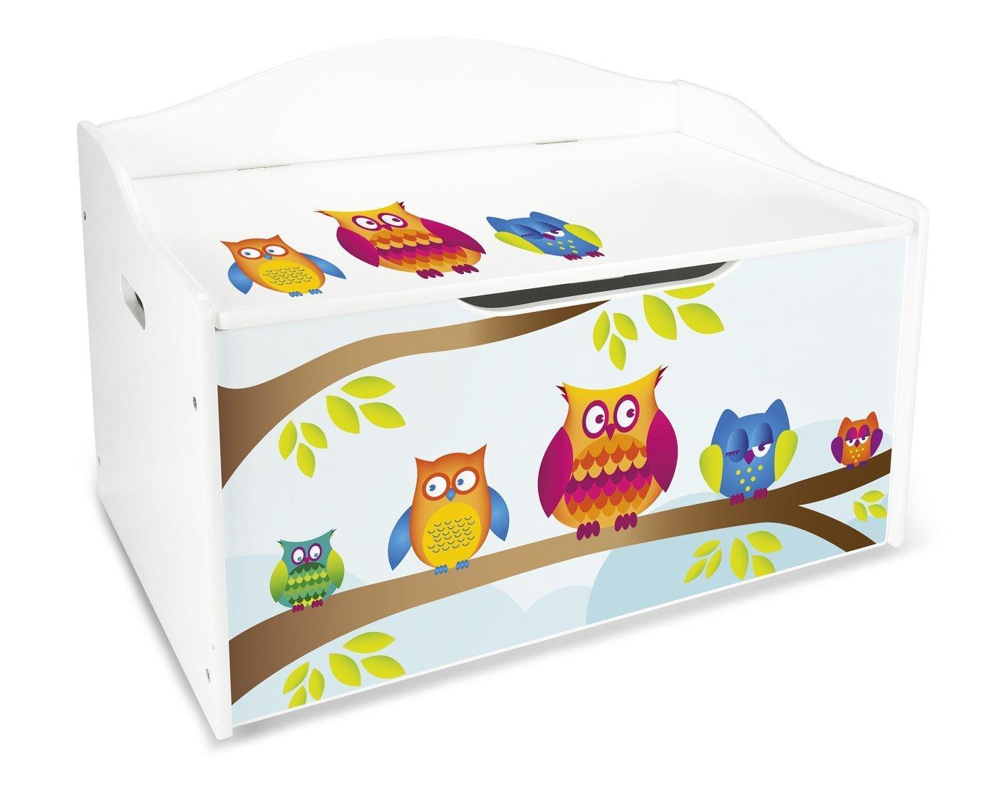Panca Contenitore Legno : Leomark contenitore porta giochi scatola portagiochi panca