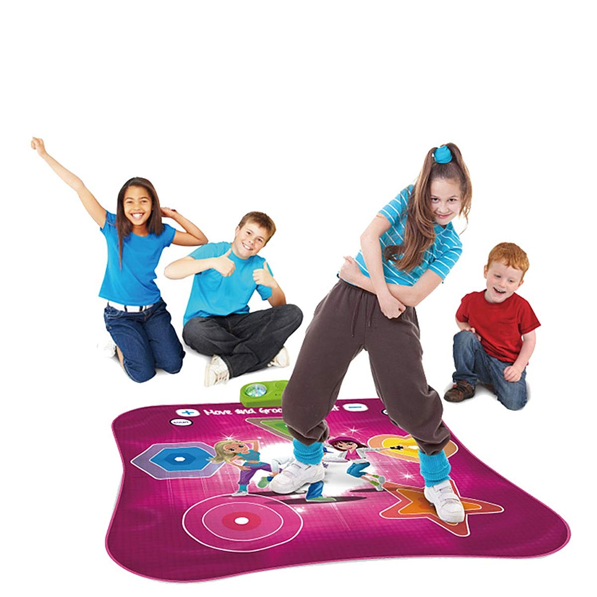 Kids Electronic Music Play Mat, Color Dance Pad Soft Baby Early Education Portable Music Dance Keyboard Carpet by Eustoma (Image #2)