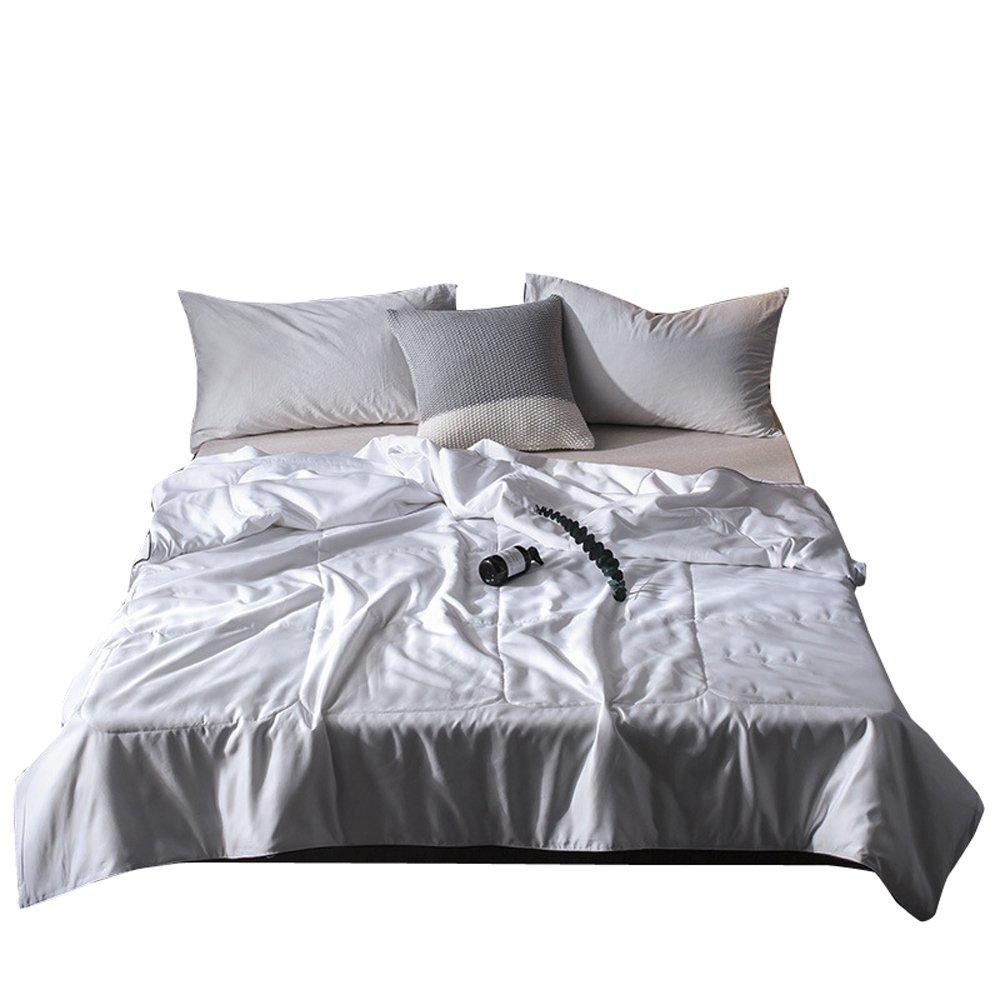 yeoyaw Summer Comforter/Duvet/Quilt Keep Cool for Summer, Breathable Lightweight Highly Ventilated Summer Quilt Full Queen King