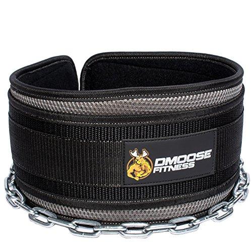 DMoose Fitness Premium Dip Belt Chain
