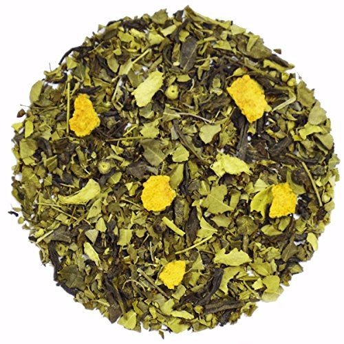 The Indian Chai - Moringa Detox Loose Leaf Herbal Tea, with Indian Gooseberry And Basil, (Guava Leaf Herbal Infusion)
