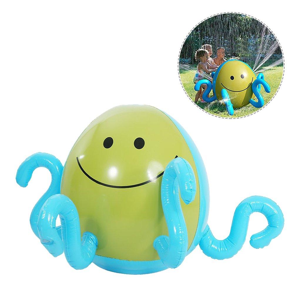 per Pelotas Hinchables de Agua Pulverización Bolas Inflables Gigantes para Piscina y Playa Juegos de Bolas para Niños Juguetes de Jardín (B) Per Trading