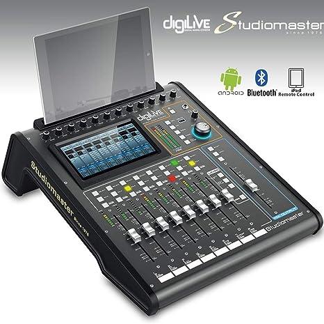 Studiomaster Digilive 16 · Mesa de mezclas digital: Amazon.es ...